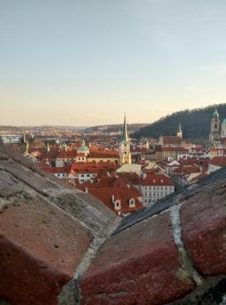 Malastrana vista desde el castillo